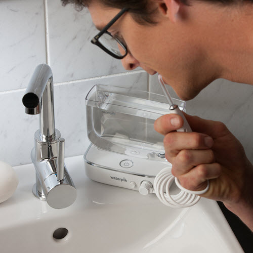Using the Waterpik Sidekick Water Flosser