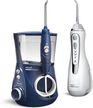 Countertop vs. Cordless Waterpik® Water Flosser