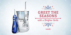 Greet the Seasons With a Brighter Smile Waterpik Water Flossers
