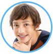 Clean and floss dental braces