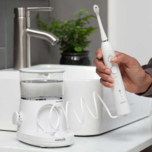 Waterpik® Sonic-Fusion® Flossing Toothbrush