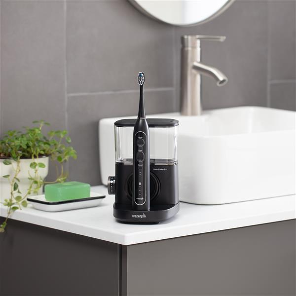 Black Sonic-Fusion 2.0 SF-04 In Bathroom
