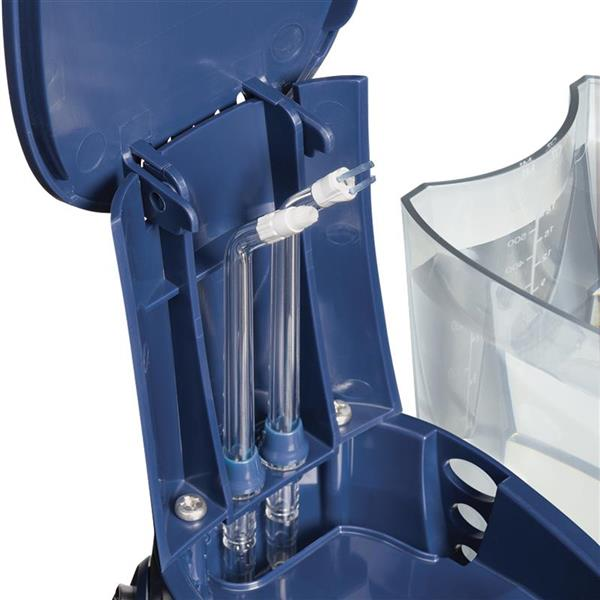 On Board Tip Storage - WP-673 Blue Aquarius Designer Series Water Flosser