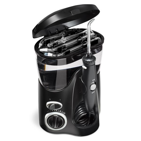 On Board Tip Storage - WP-112 Black Ultra Water Flosser