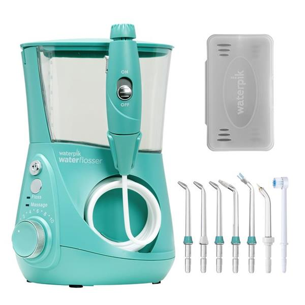 Water Flosser & Tip Accessories - WP-676 Teal Aquarius Designer Series Water Flosser
