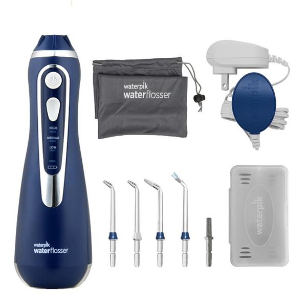 Water Flosser & Tip Accessories - WP-563 Blue Cordless Advanced Water Flosser
