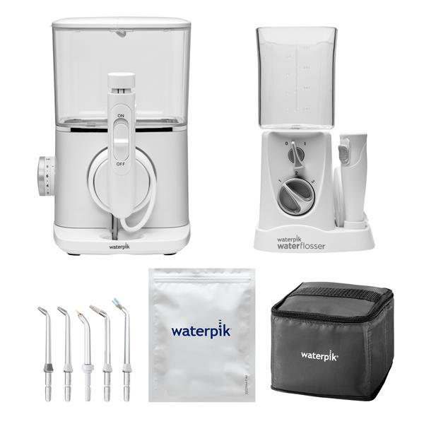 Tips & Accessories - White Evolution WF-07 and Nano WP-310 Water Flosser Combo