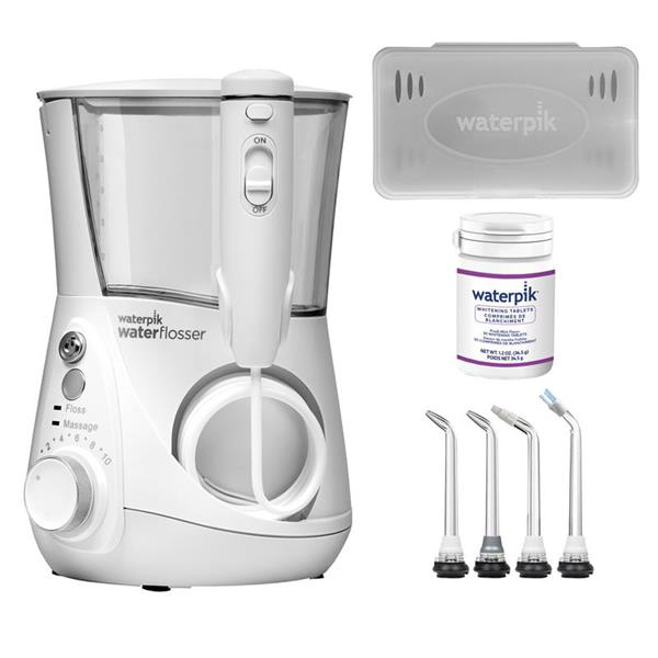 Water Flosser & Tip Accessories - WF-05 White Whitening Professional Water Flosser