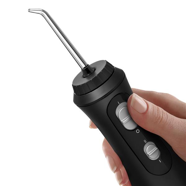 Water Flosser Handle - WP-462 Black Cordless Plus Water Flosser