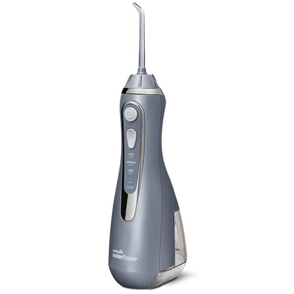 Waterpik WP-567 Cordless Advanced Water Flosser - Modern Gray