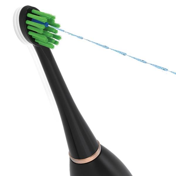 Black Flossing Toothbrush Brush Head - Sonic-Fusion SF-02