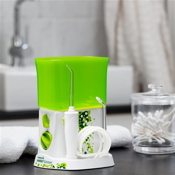 White Kids Water Flosser WP-260 In Bathroom