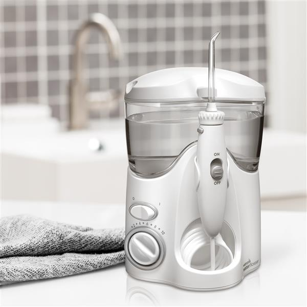 White Ultra Water Flosser WP-100 In Bathroom