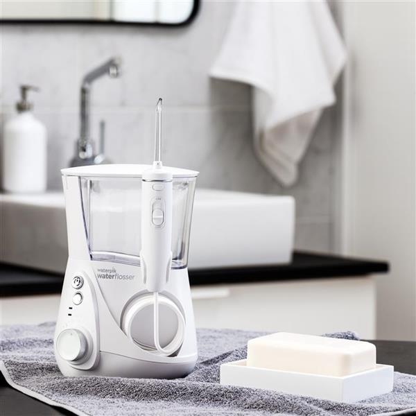 White Whitening Professional Water Flosser WF-05 In Bathroom