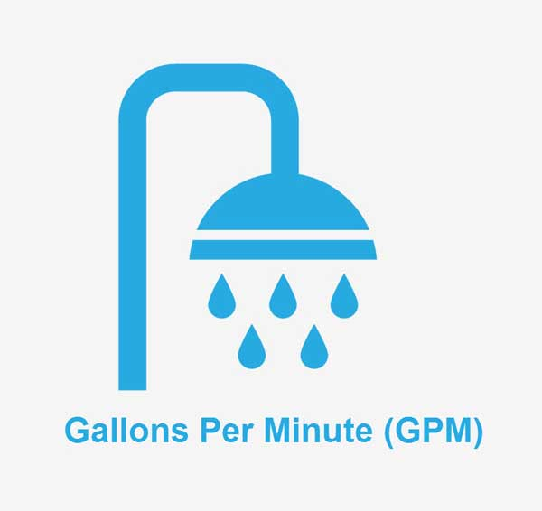 Shower Head GPM - What It Means & Why It's Important To You