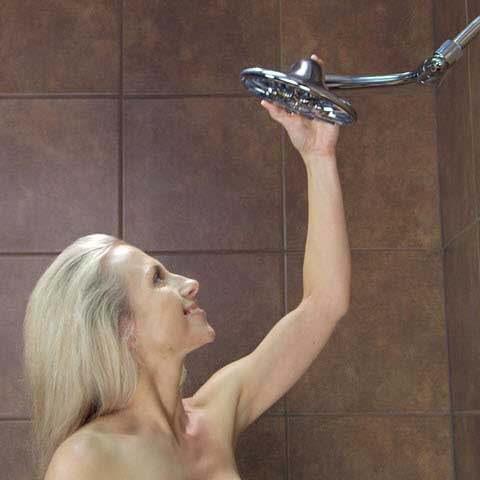 Adjustable Shower Head is Always the Perfect Height