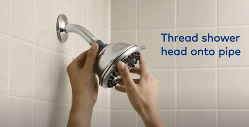 4 Simple Steps to Install a Shower Head