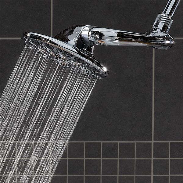 ASW-673E Rain Shower Head Spraying Water