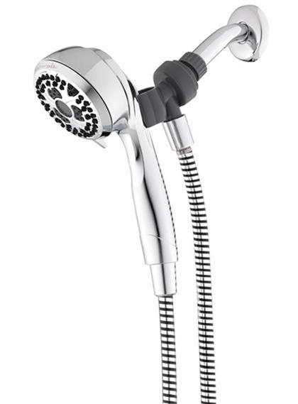 Shower Head Drawing chrome heightselect™ hand held shower head (nse-753t)