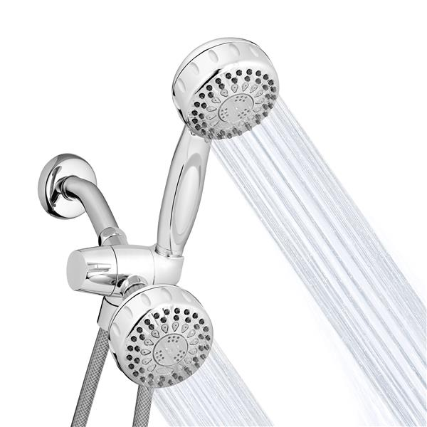 TRS-523-553 Dual Shower Heads Spraying Water