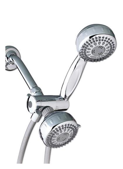 TRS-523T-553T dual shower head with hand held
