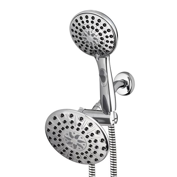 VLL-133-633VB Chrome Dual Shower Head