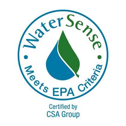 WaterSense CSA Certified