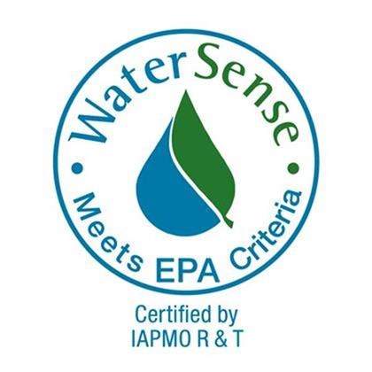WaterSense IAPMO Certified