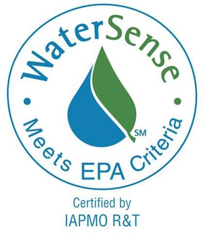 XFT-769E WaterSense Certification