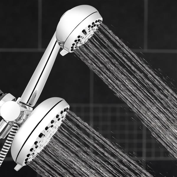 XHT-333-763VB Dual Shower Heads Spraying Water